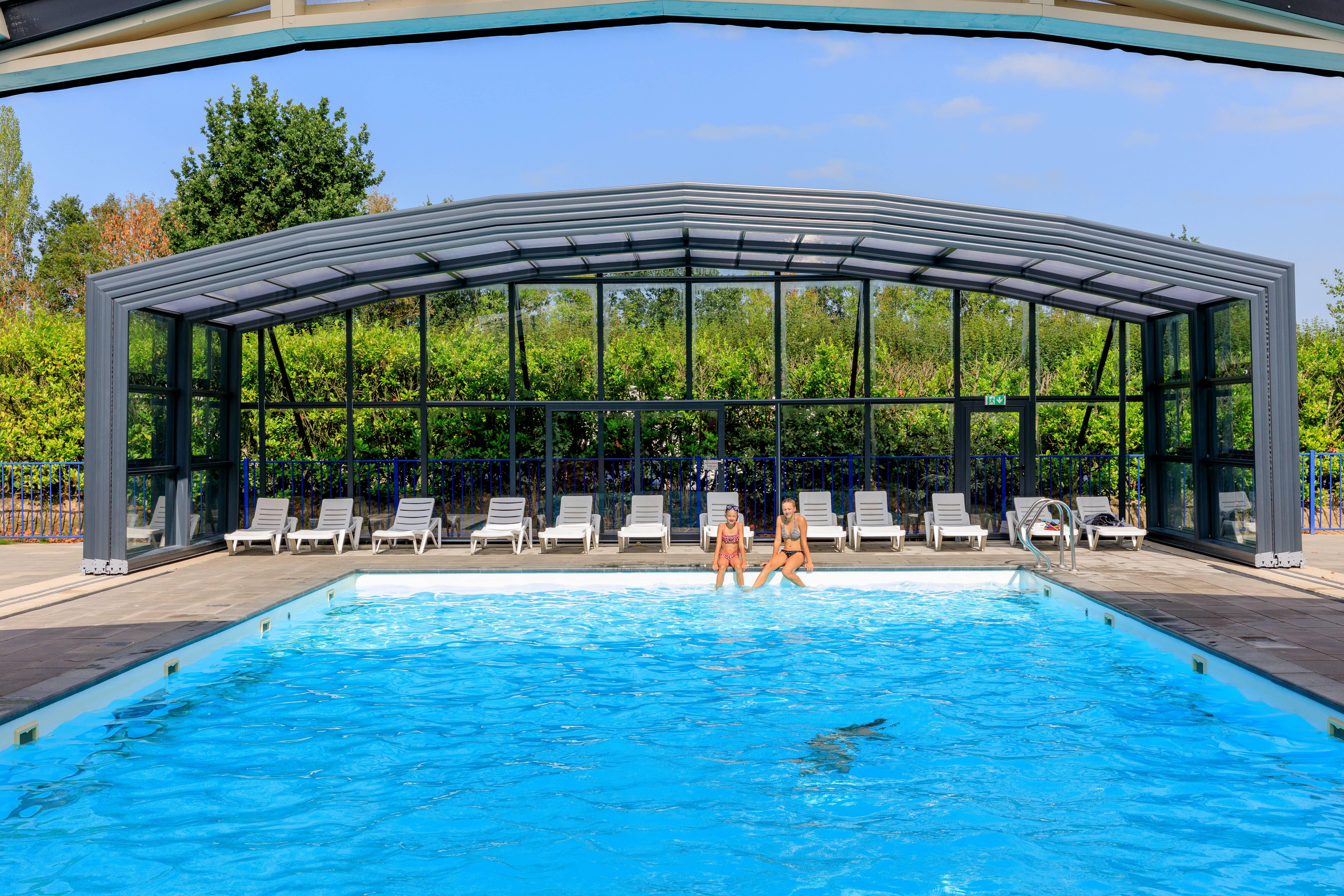 Zwembad overkappingen voor professionals - Vollenhove, Nederlands