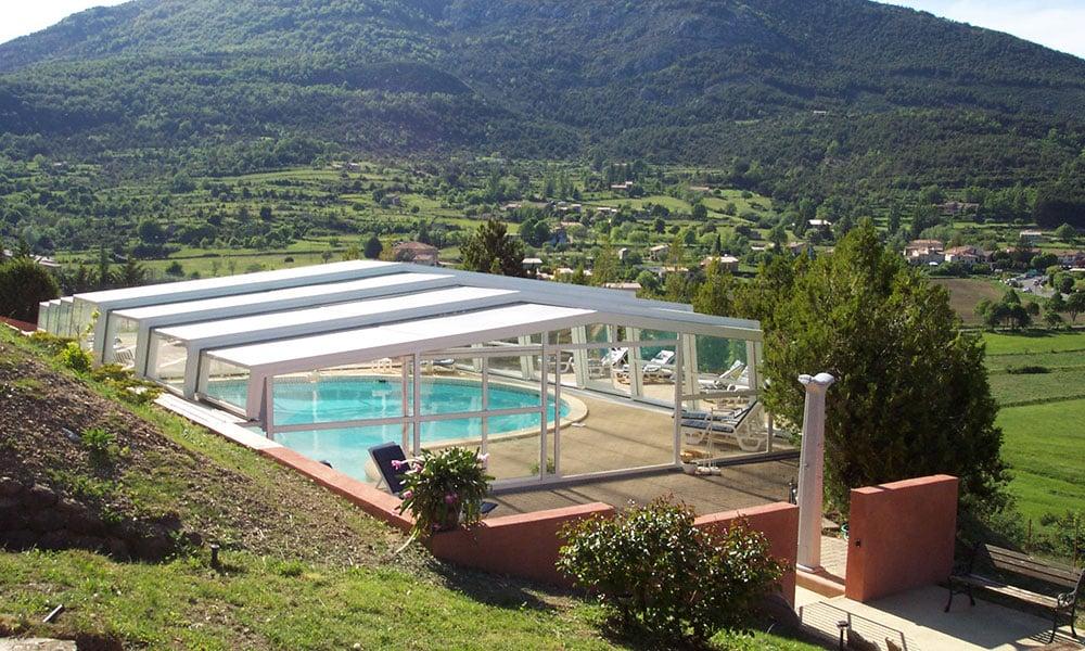Zwembad overkappingen voor professionals - Zwembadoverkapping, Frankrijk