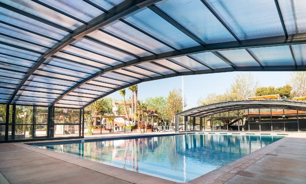 Zwembad overkappingen voor professionals - Camping, Frankrijk